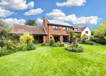 Thumbnail 4 bedroom detached house for sale in Shelford Hill, Shelford