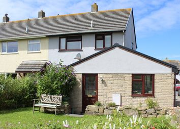 Thumbnail 3 bed end terrace house for sale in Parc An Yorth, Trewellard