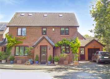 Thumbnail 5 bed detached house for sale in Hardwick Close, Swindon