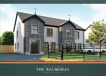 Thumbnail 4 bedroom semi-detached house for sale in Greenacres Lane, Halftown Road, Lisburn