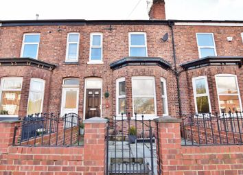 Thumbnail 4 bed terraced house for sale in Peel Green Road, Eccles, Manchester