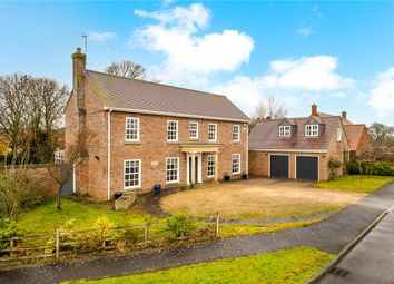 Thumbnail 5 bed detached house for sale in Danesfield, Threekingham, Sleaford, Lincolnshire
