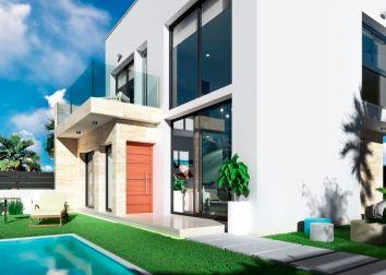 Thumbnail 3 bed detached house for sale in Daras Villas, Daya Vieja, Alicante, Valencia, Spain