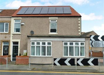 Thumbnail 3 bed end terrace house for sale in Half Moon Street, Choppington, Northumberland