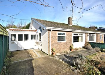 Thumbnail 2 bed semi-detached bungalow for sale in Bracken Road, South Wootton, King's Lynn