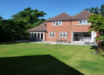 Thumbnail 5 bed detached house to rent in Finchampstead Road, Wokingham