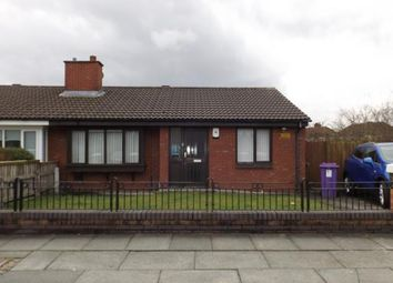 Thumbnail 2 Bed Bungalow For Sale In Caspian Road Walton Liverpool Merseyside