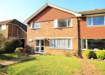 Thumbnail 3 bed semi-detached house for sale in Camber Close, Bexhill-On-Sea