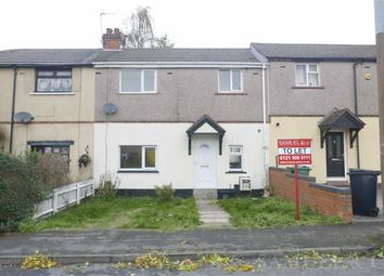 Thumbnail 2 bed terraced house to rent in Udall Road, Bilston