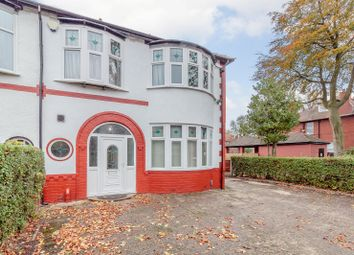 Thumbnail 4 bedroom semi-detached house for sale in Alexandra Road South, Whalley Range