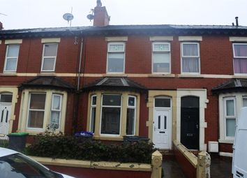 Thumbnail 4 bed terraced house for sale in Hawthorn Road, Blackpool