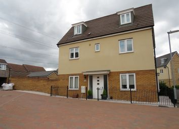 Thumbnail 4 bed detached house for sale in Fieldfare, Leighton Buzzard