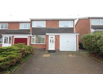 Thumbnail 3 bed terraced house for sale in Lyndene Close, Earl Shilton, Leicester