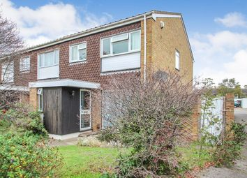 Thumbnail 3 bed end terrace house for sale in Buckingham Gardens, West Molesey