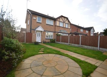 Thumbnail 3 bed semi-detached house for sale in Castleford Rise, Moreton, Wirral