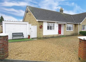 Beech Grove, March PE15. 2 bed semi-detached bungalow