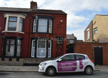 Thumbnail 3 bedroom terraced house to rent in Olney Street, Liverpool, Merseyside