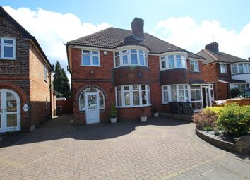 Thumbnail 3 bed semi-detached house for sale in Lulworth Road, Hall Green, Birmingham