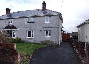 Thumbnail 3 bed semi-detached house for sale in Corporation Avenue, Llanelli