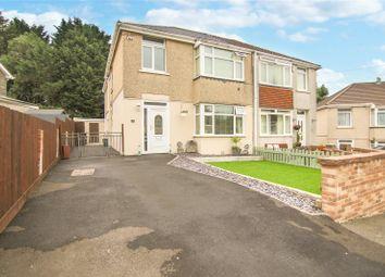Thumbnail 4 bed detached house for sale in Cendl Crescent, Rassau, Ebbw Vale, Blaenau Gwent