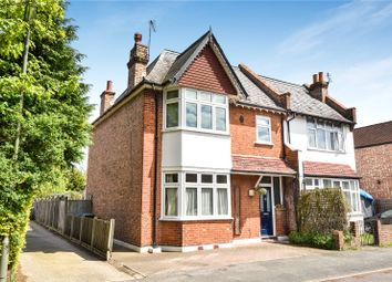 Thumbnail 4 bed semi-detached house for sale in South Avenue, Egham, Surrey