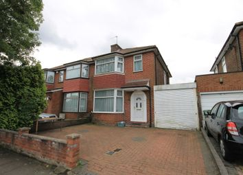 Thumbnail 3 bedroom semi-detached house to rent in Whitton Ave East, Greenford