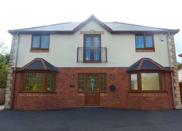 Thumbnail 4 bed detached house for sale in Pond Row, Abercanaid, Merthyr Tydfil