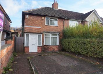 Thumbnail 3 bed end terrace house for sale in Sidcup Road, Birmingham