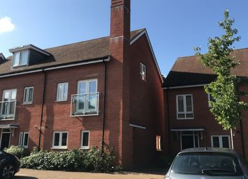 Thumbnail 3 bedroom town house for sale in Villa Close, Cholsey, Wallingford