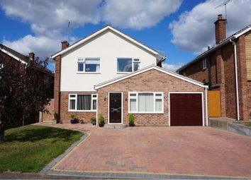 Thumbnail 4 bed detached house for sale in Borrowdale Drive, Leamington Spa