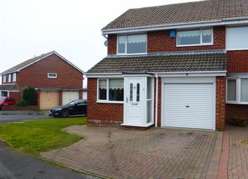 Thumbnail 3 bed property to rent in Amberwood Close, Hartlepool