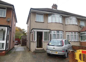Thumbnail 3 bed semi-detached house to rent in Carfax Road, Hayes