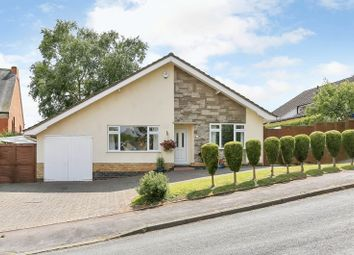 Thumbnail 3 bed detached bungalow for sale in Windmill Rise, Woodhouse Eaves, Loughborough