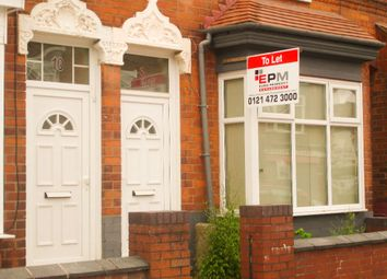 Thumbnail 4 bedroom terraced house to rent in Manilla Road, Selly Park, Birmingham