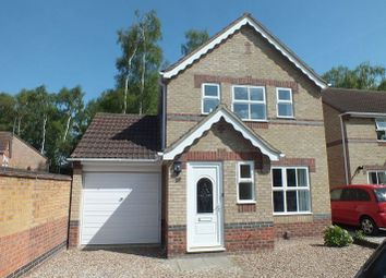Thumbnail 3 bed detached house to rent in Lime Tree Close, Lincoln