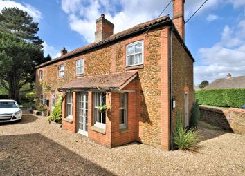 Thumbnail 5 bed detached house for sale in Setch Road, Blackborough End, King's Lynn