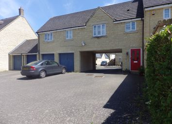 Thumbnail 1 bed detached house to rent in Fallowfield Crescent, Witney, Oxfordshire
