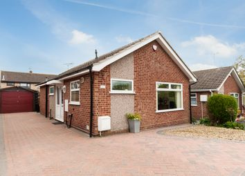 Thumbnail 2 bed detached bungalow for sale in Brampton Close, Mickleover, Derby