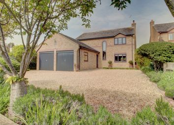 Thumbnail 4 bed detached house for sale in Greatford, Stamford