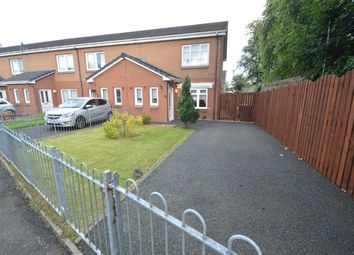 Thumbnail 2 bed end terrace house for sale in Flanigan Grove, Bellshill