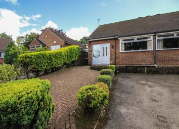 Thumbnail 2 bedroom semi-detached bungalow for sale in Morridge View, Cheddleton, Leek, Staffordshire
