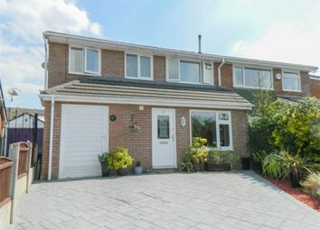 Thumbnail 3 bedroom semi-detached house for sale in Harwood Vale, Harwood, Bolton, Lancashire