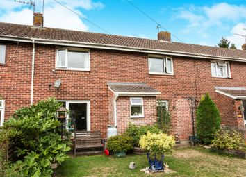 Thumbnail 3 bed terraced house for sale in Woodley Close, Romsey