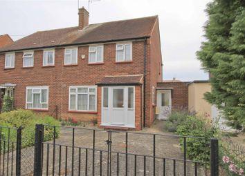 Thumbnail 3 bed semi-detached house for sale in Midhurst Gardens, Uxbridge
