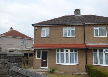 Thumbnail 3 bed property to rent in Ayreville Road, Plymouth, Devon