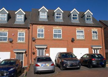 Thumbnail 3 bed town house for sale in Castle Road, Castle Gresley, Swadlincote, Derbyshire
