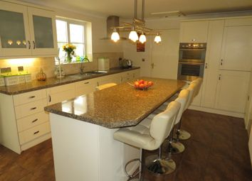 Thumbnail 4 bed detached house for sale in Colliers Avenue, Llanharan, Pontyclun