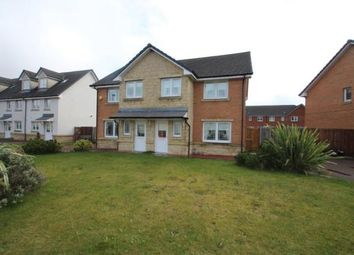 Thumbnail 3 bed semi-detached house for sale in Cranston Avenue, Airdrie, North Lanarkshire
