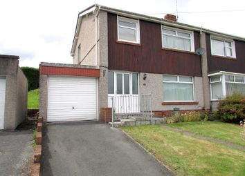 Thumbnail 3 bedroom semi-detached house for sale in Compton Avenue, Neath, Neath Port Talbot.