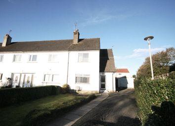 Thumbnail 2 bed end terrace house for sale in Burnside Road, Elderslie, Johnstone
